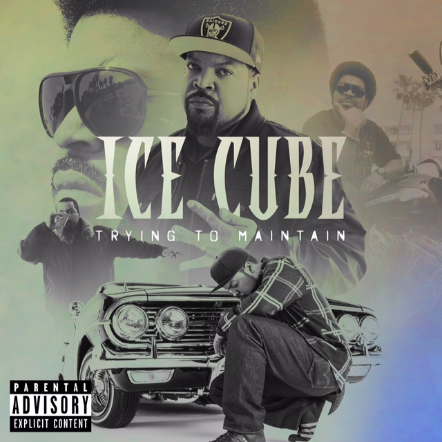 Ice Cube Trying to Maintain